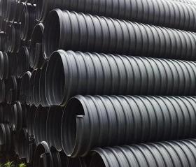 HDPE钢带管